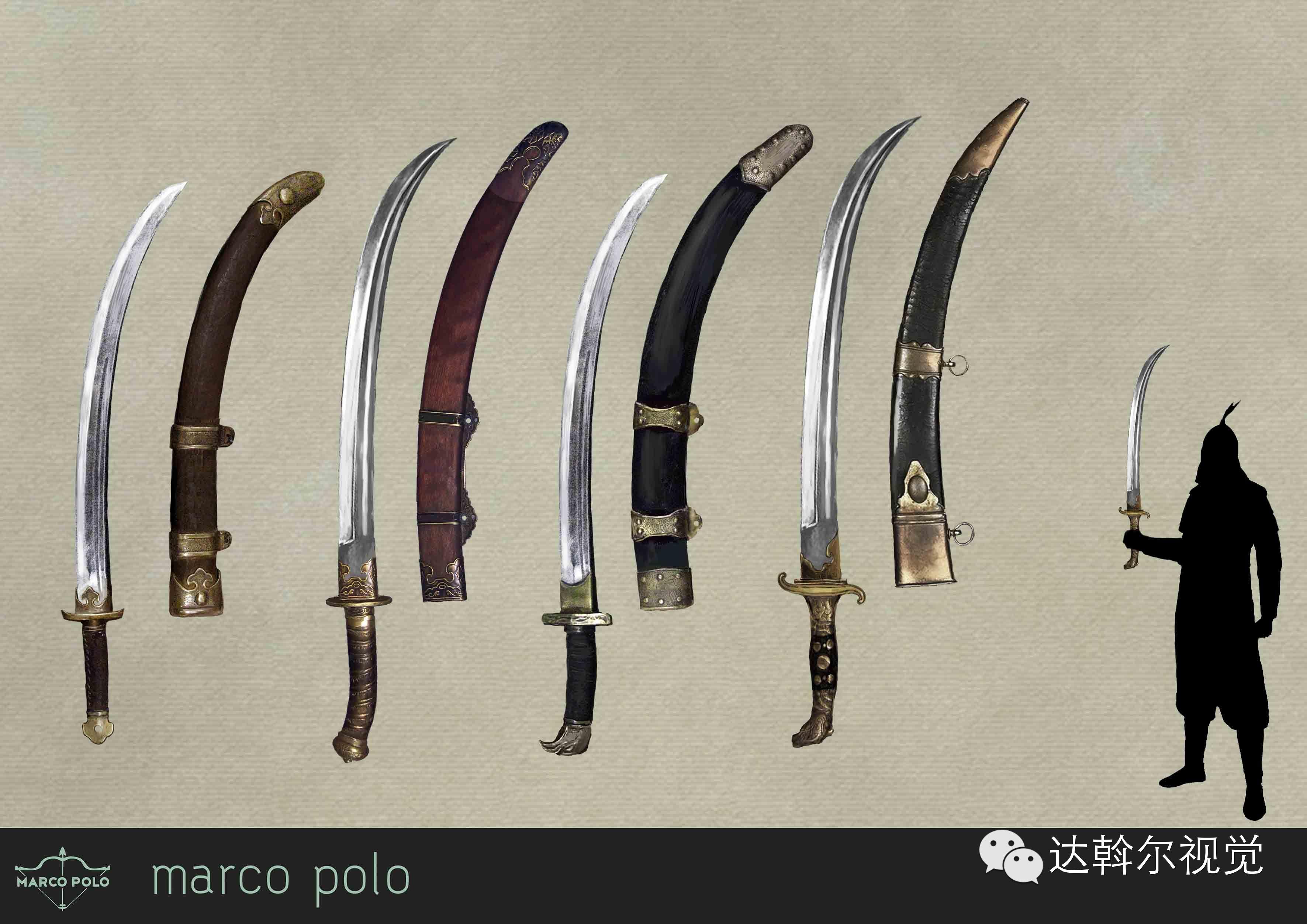 蒙古题材美剧《马可波罗》兵器设计欣赏 第23张