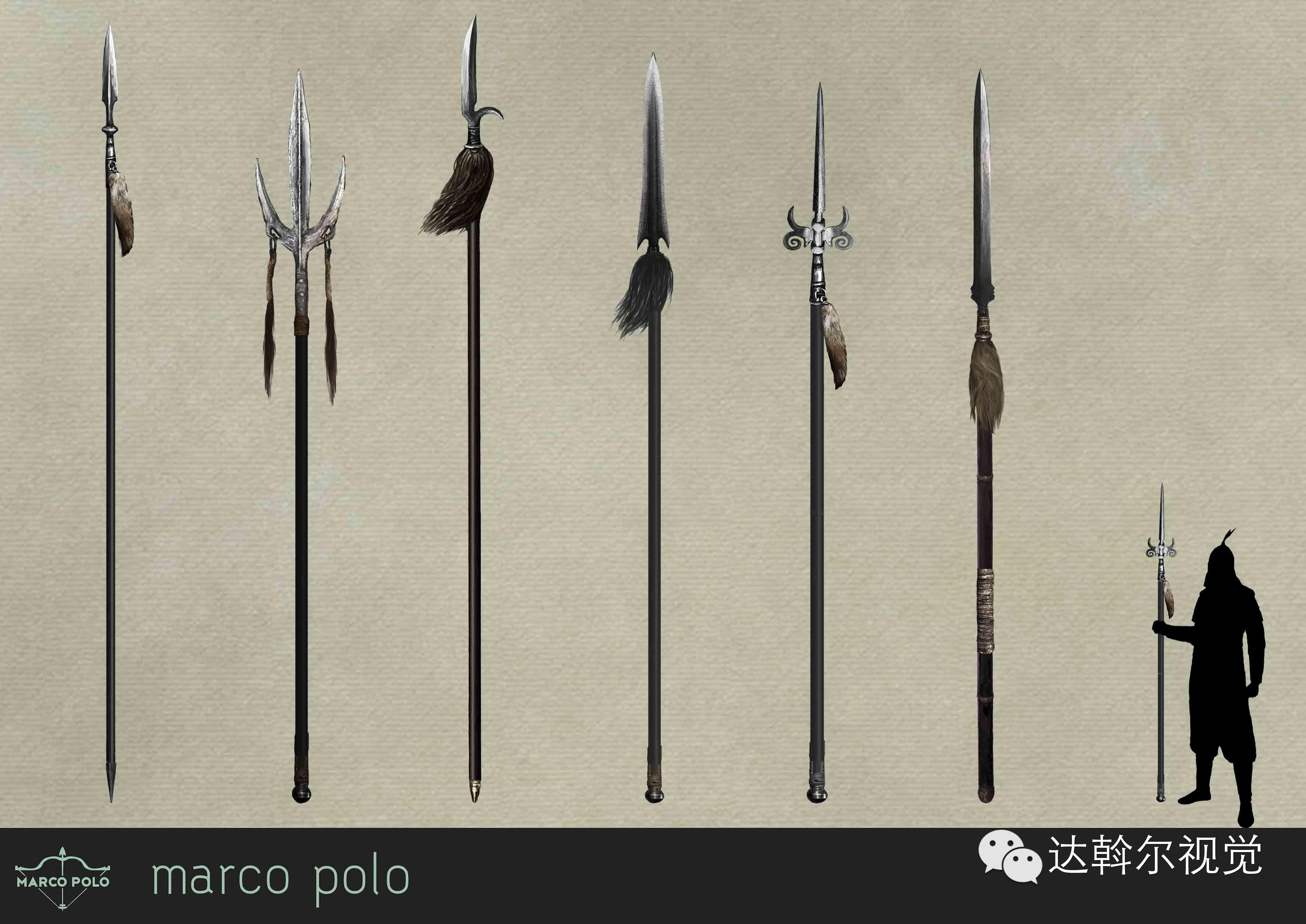 蒙古题材美剧《马可波罗》兵器设计欣赏 第24张