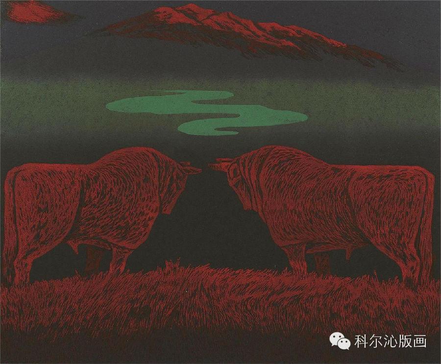 著名版画家乌恩琪作品欣赏 第9张