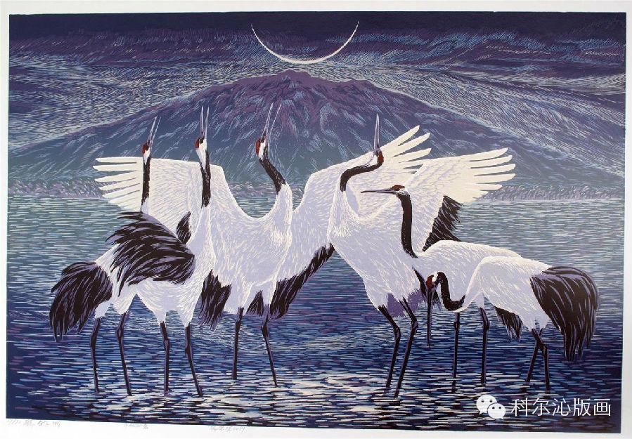 著名版画家乌恩琪作品欣赏 第13张