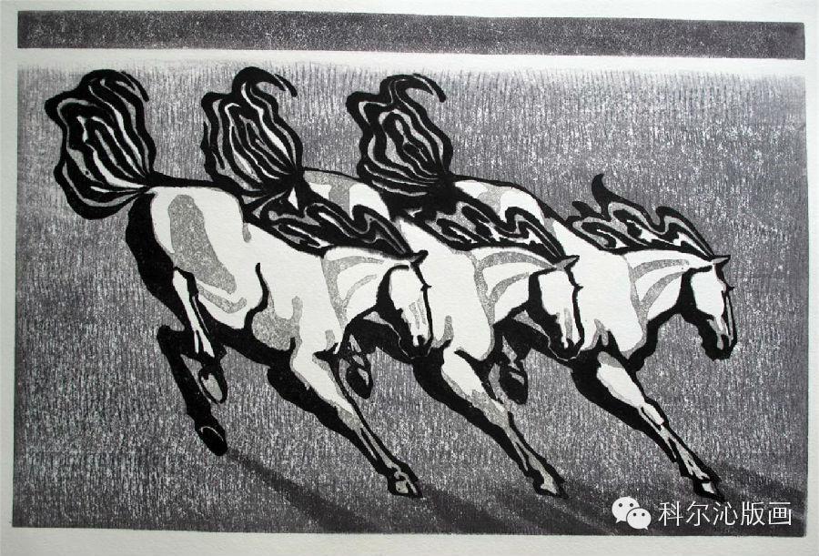 著名版画家乌恩琪作品欣赏 第20张