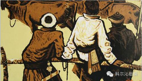 科尔沁版画家系列之一  ———— 田宏图 第2张