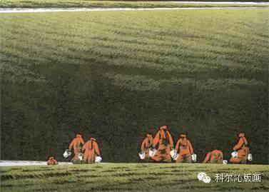 科尔沁版画家系列之一  ———— 田宏图 第7张
