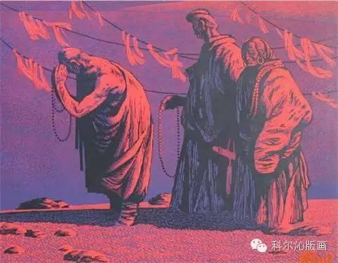 科尔沁版画家系列之一  ———— 田宏图 第5张