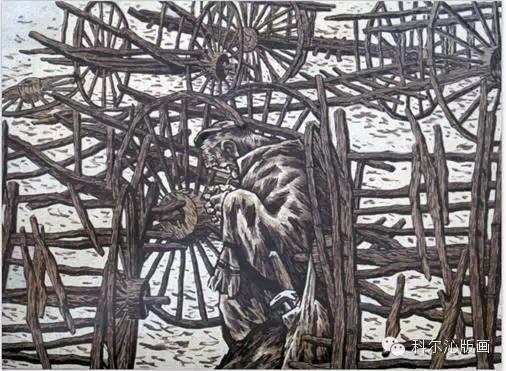 科尔沁版画家系列之一  ———— 田宏图 第8张