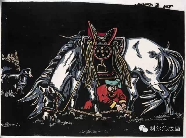 著名画家刘宝平作品欣赏(版画系列) 第4张