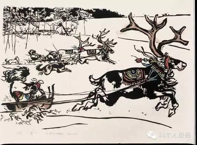 著名画家刘宝平作品欣赏(版画系列) 第14张