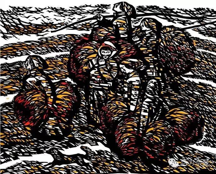 版画艺术丨奈曼版画基地的部分版画创作者简介及部分作品欣赏,让你大开眼界! 第3张