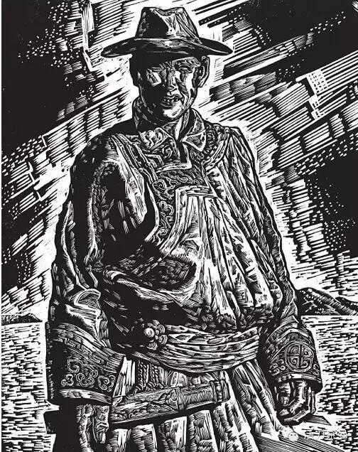 版画艺术丨奈曼版画基地的部分版画创作者简介及部分作品欣赏,让你大开眼界! 第10张