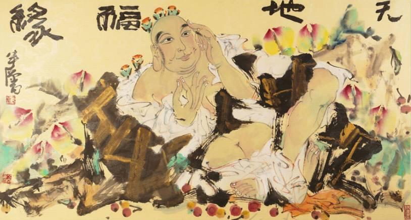 海日汗——草原画僧,不俗不邪画慈悲 第11张