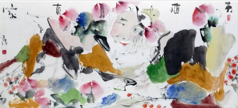 海日汗——草原画僧,不俗不邪画慈悲 第12张