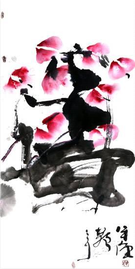 海日汗——草原画僧,不俗不邪画慈悲 第27张