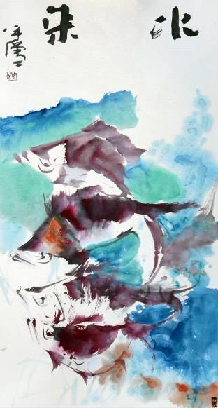 海日汗——草原画僧,不俗不邪画慈悲 第32张