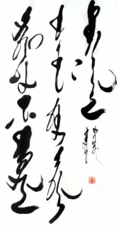 蒙古文书法家--年轻小伙子胡日查的作品 第10张