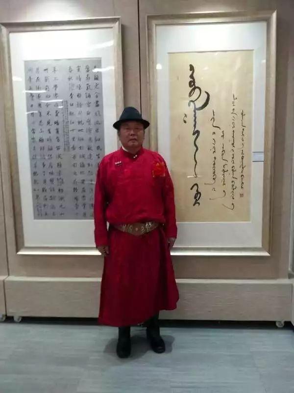 【人物】宝音德力格----蒙古文书法家 第1张
