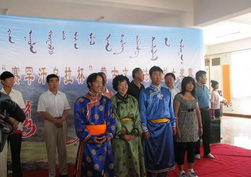 致力于传播、传承蒙古文书法艺术的内蒙古自治区通辽市科尔沁左翼后旗蒙古文书法家协会 第1张