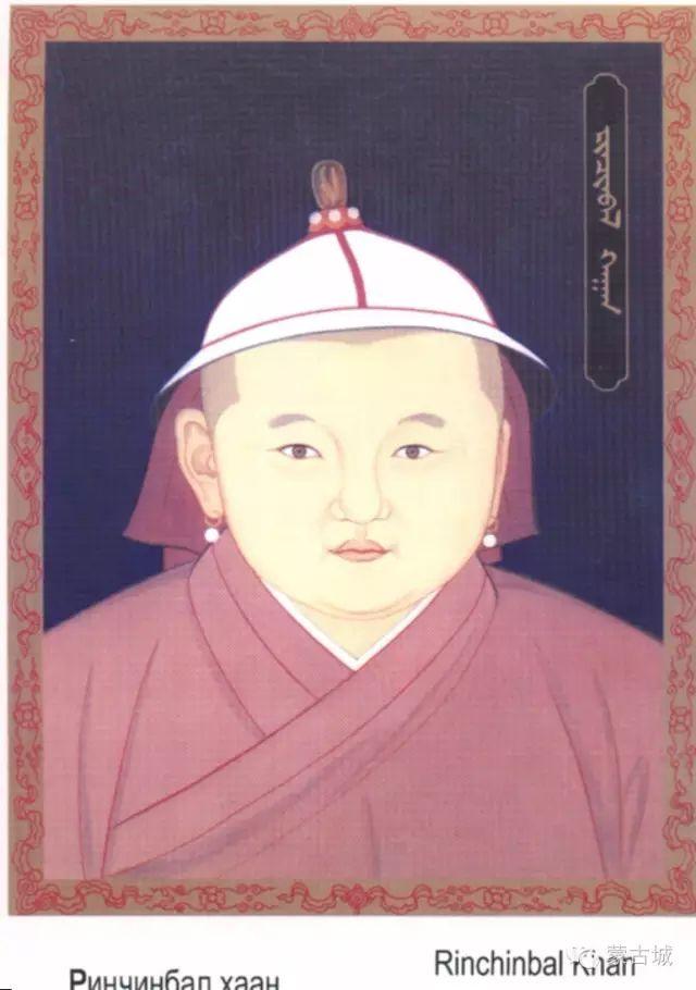 蒙古历代38位可汗(皇帝)头像及简介(新旧蒙古文对照) 第42张