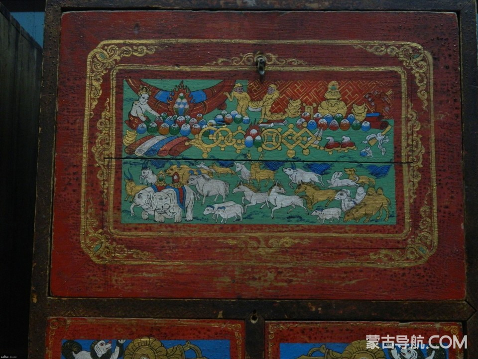 蒙古家具经典样式花纹 — 精美大气,浑然天成 第18张