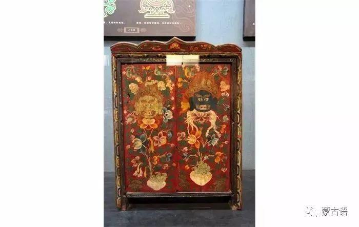 【习俗】蒙古族传统家具的装饰工艺 第3张