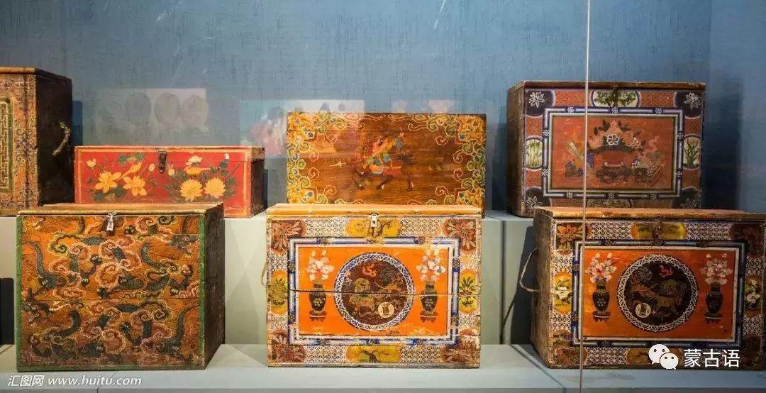【习俗】蒙古族传统家具的装饰工艺 第2张