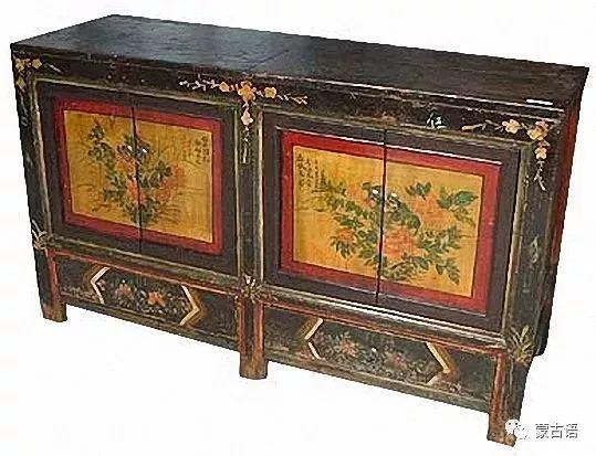 【习俗】蒙古族传统家具的装饰工艺 第1张