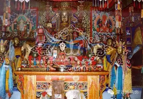 蒙古族家具装饰图案中的藏传佛教因素 第1张