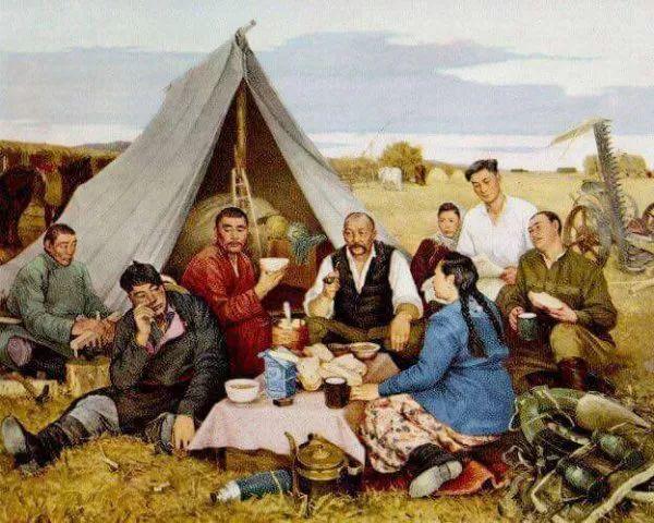 蒙古人都应该了解和知道的名画~~~ 第2张