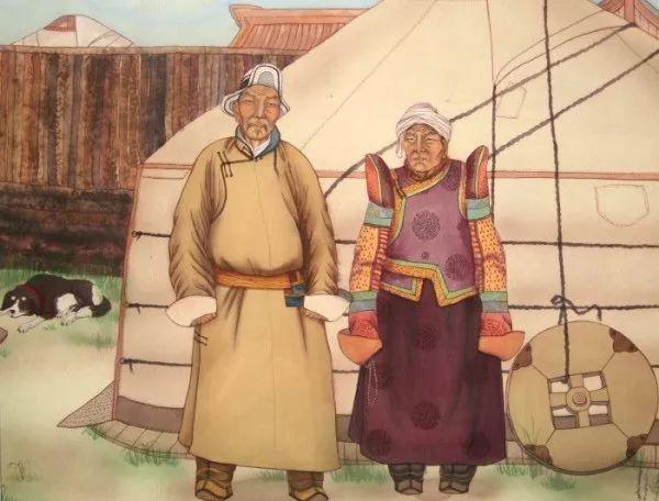 蒙古人都应该了解和知道的名画~~~ 第11张