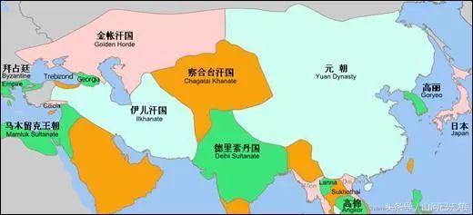 蒙古帝国衰落后,谁是最大的受益者?竟然不是外蒙古... 第1张