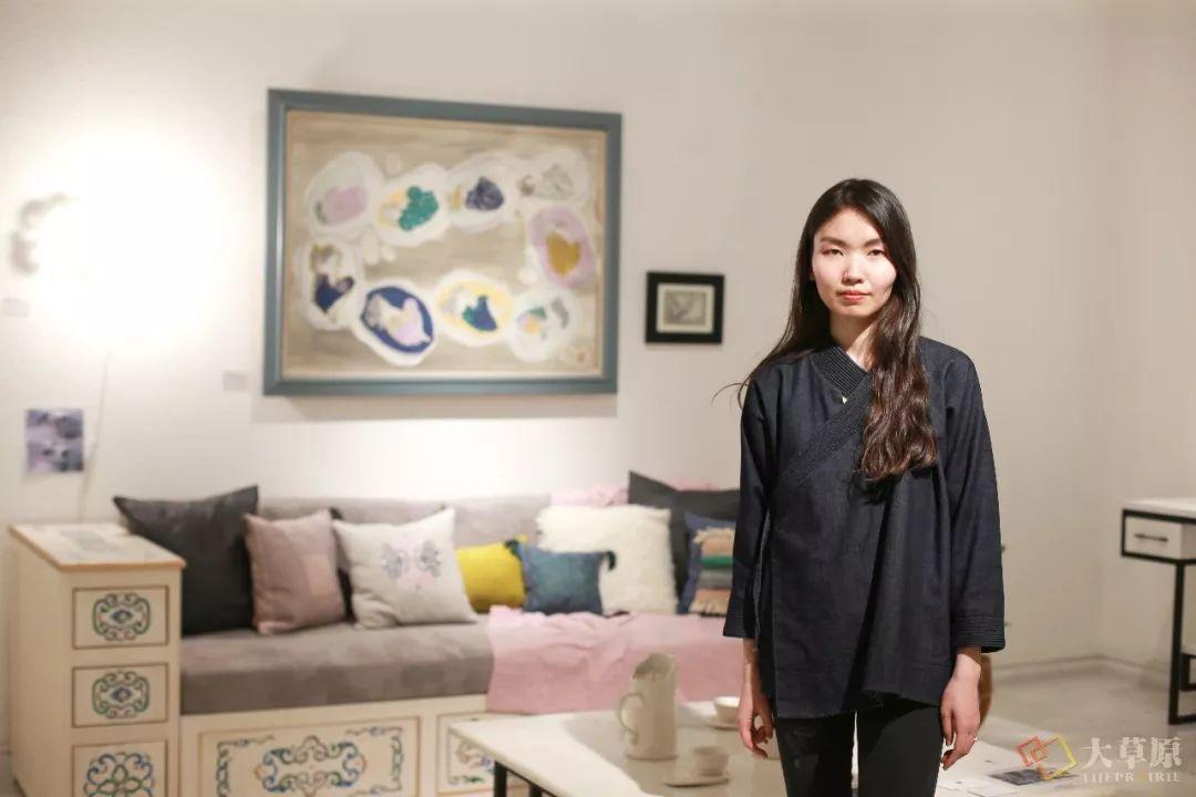 """看这位央美毕业的设计师回国后,是如何让现代住宅和蒙古族传统家具""""碰撞""""出新花样的? 第7张"""