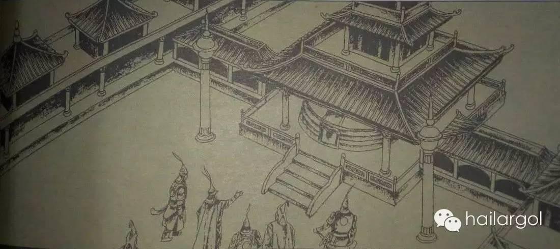 连环画《蒙古族通史》——蒙古汗国节选(蒙文) 第9张