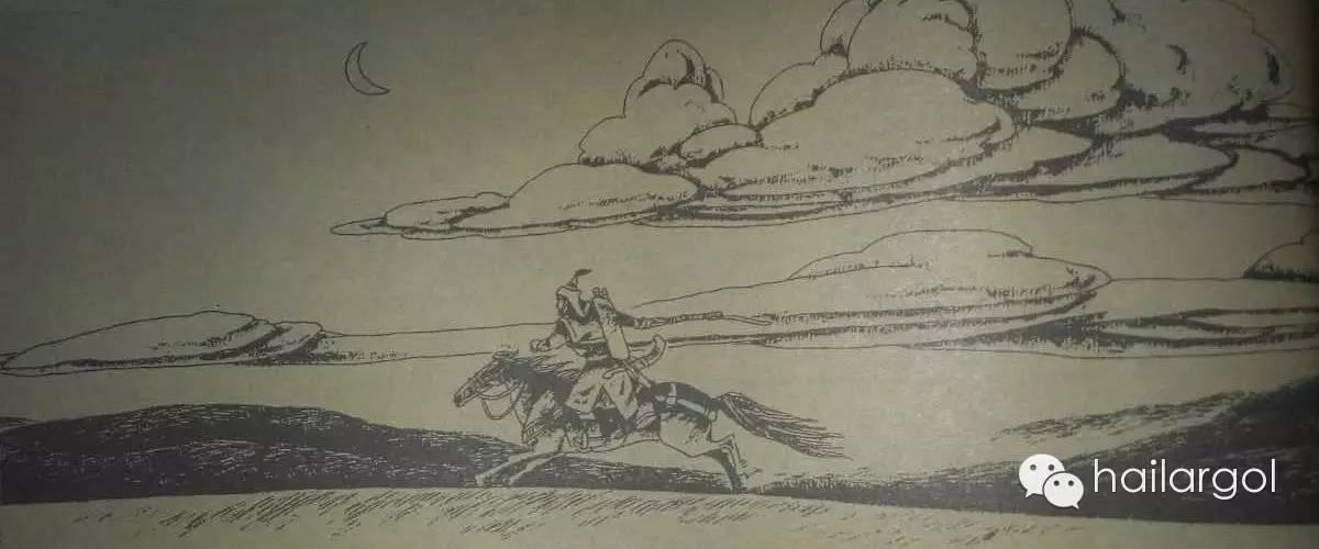 连环画《蒙古族通史》——蒙古汗国节选(蒙文) 第7张