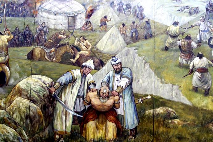 蒙古历史长卷系列油画 第16张