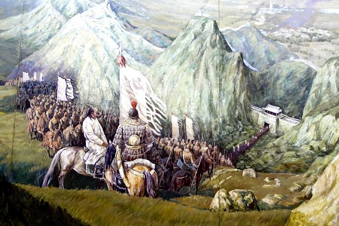 蒙古历史长卷系列油画 第24张