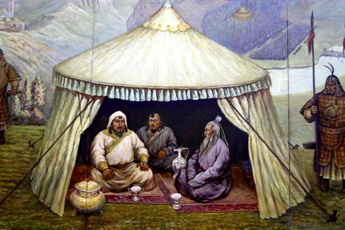 蒙古历史长卷系列油画 第27张
