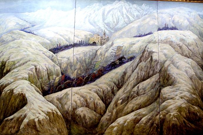 蒙古历史长卷系列油画 第34张