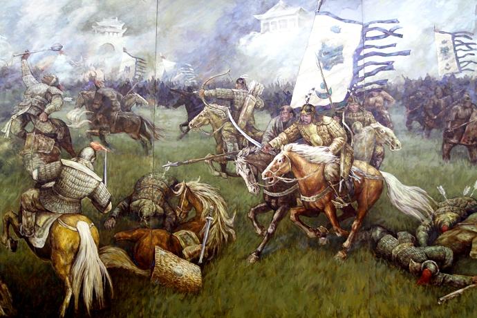 蒙古历史长卷系列油画 第36张
