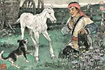 连环画《马头琴的传说》 第6张