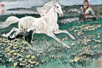 连环画《马头琴的传说》 第8张