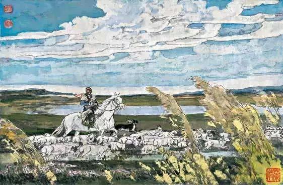 连环画《马头琴的传说》 第10张