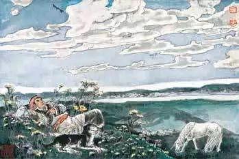 连环画《马头琴的传说》 第12张