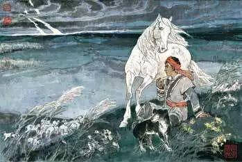 连环画《马头琴的传说》 第13张