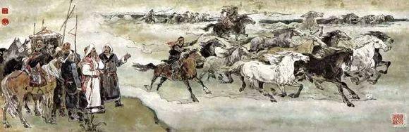 连环画《马头琴的传说》 第26张