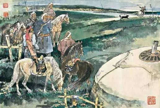 连环画《马头琴的传说》 第25张