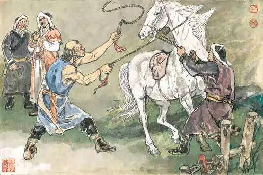 连环画《马头琴的传说》 第41张