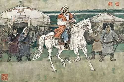 连环画《马头琴的传说》 第42张