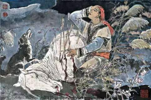 连环画《马头琴的传说》 第55张