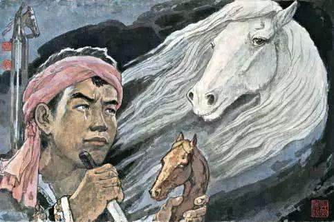连环画《马头琴的传说》 第57张