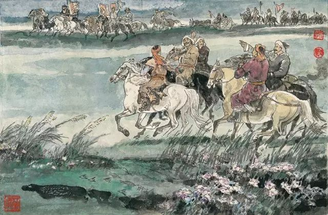 《马头琴的故事》李永志 李德兰/ 编绘 第28张