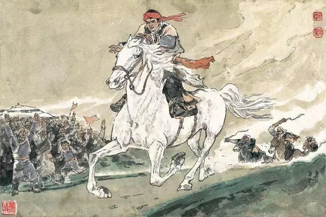 《马头琴的故事》李永志 李德兰/ 编绘 第31张